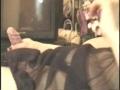 人妻Y子 淫乱フェラを横のアングルで