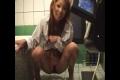 ちっぱい黒ギャル⑤ 放尿動画